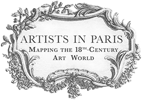 Artists in Paris - Mapping the Eighteenth-Century Art World